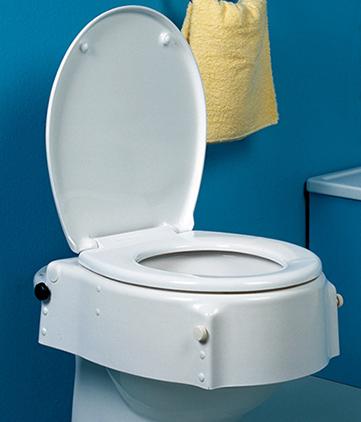 ELEVADOR WC ALTURA REGULABLE Y TAPA