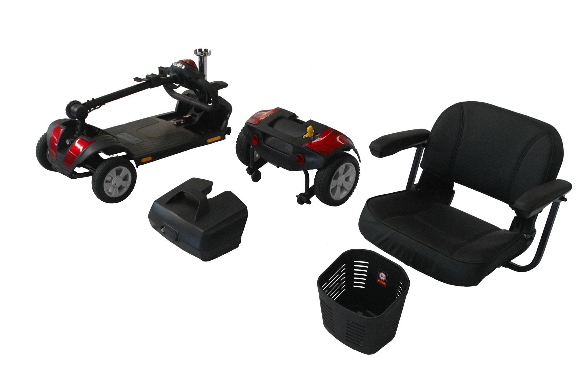 scooter m1 desmontado